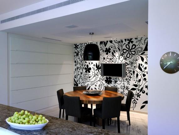 Papeles pintados un papel que cambia todo lazareno estudio - Casas decoradas con papel pintado ...