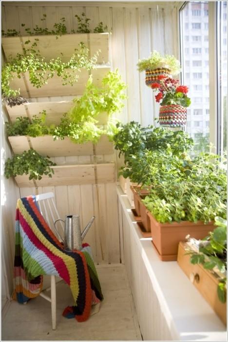 Balcones y terrazas todos al fresco lazareno estudio for Balcones con plantas